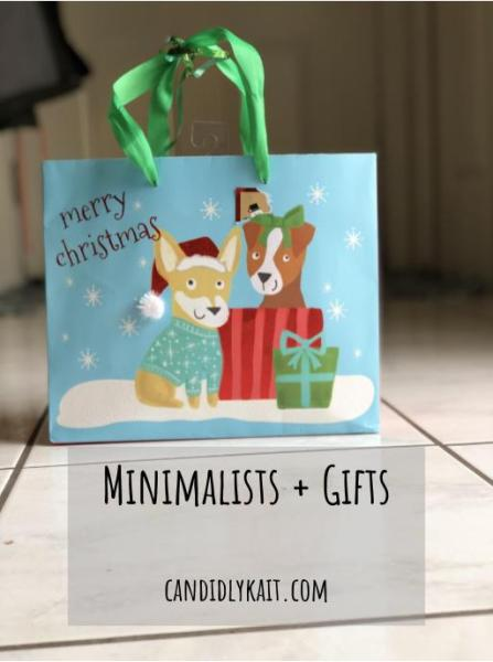 minimalists and gifts picture